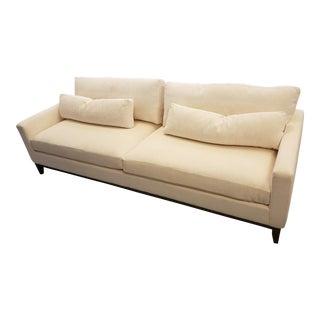 Modern Kravet Cream Sofa For Sale