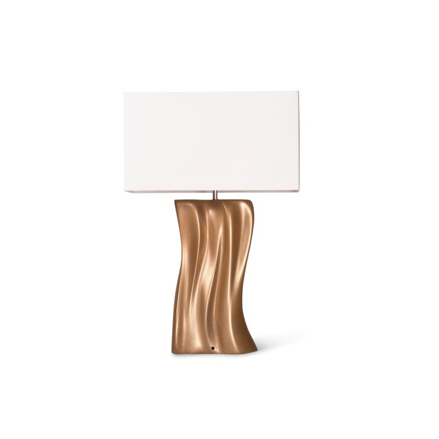 Amorph Amorph Doris Table Lamp - Gold Finish For Sale - Image 4 of 9