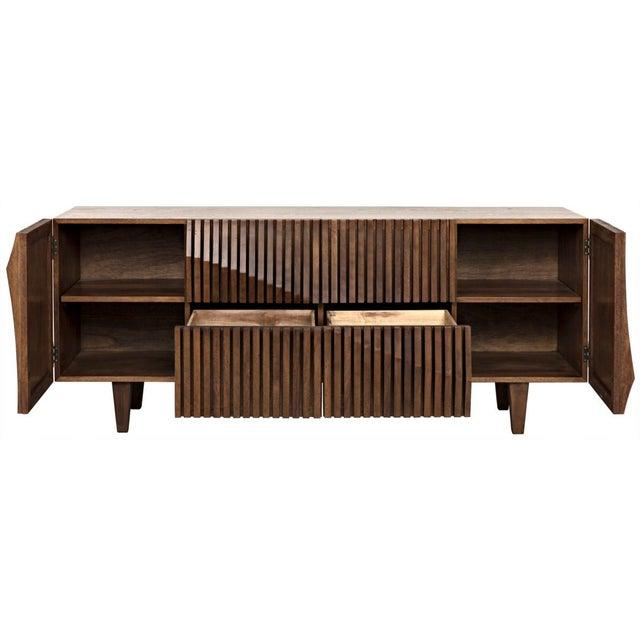 Brown Jin-Ho Dark Walnut Sideboard For Sale - Image 8 of 9