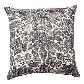 Ralph Lauren Fabric Faded Damask Pillow For Sale