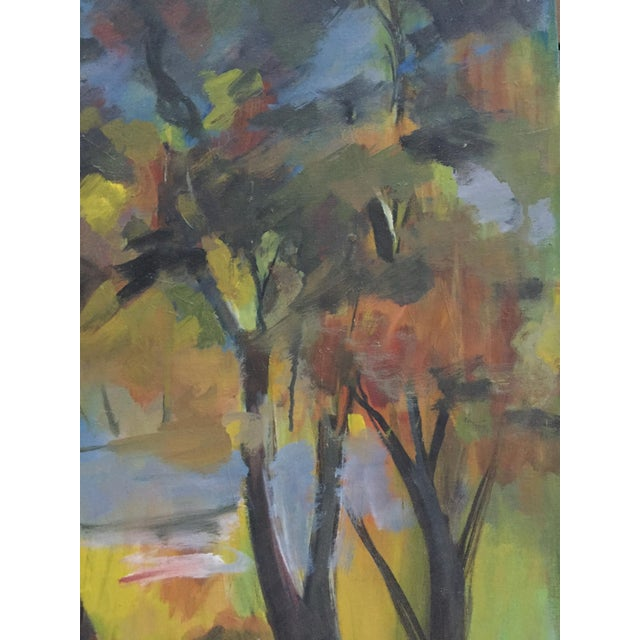 Will Frates Vintage California Landscape Painting - Image 2 of 4