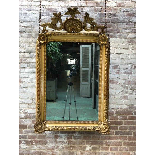 Traditional 19th Century Mirror For Sale - Image 3 of 12