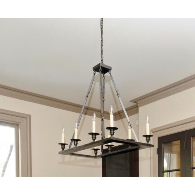 Holly Hunt Holly Hunt Contemporary Chandelier For Sale - Image 4 of 4