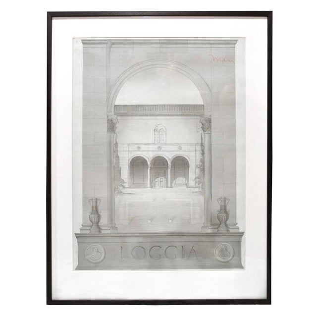 Set of Four Architectural Drawings - Image 2 of 5