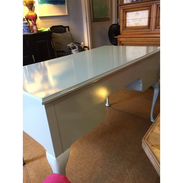 French Style Vintage Lacquered Desk - Image 7 of 7