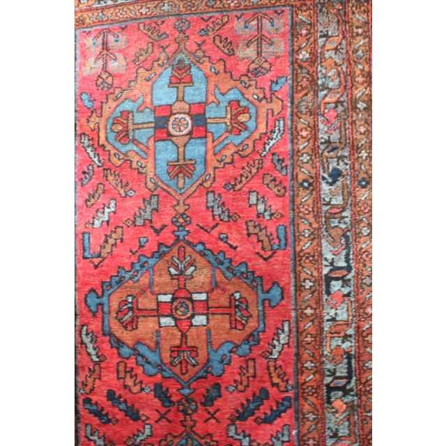 Antique Persian Rug - 3′1″ × 6′3″ - Image 3 of 4