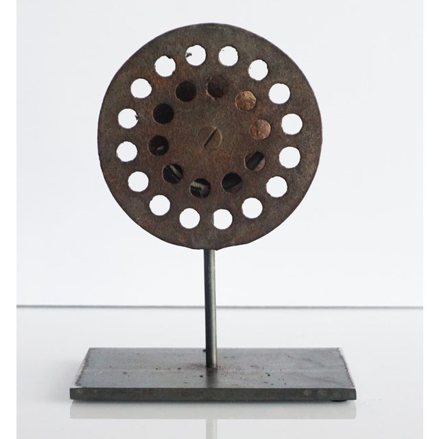 Perforated Found Object Sculpture For Sale In Palm Springs - Image 6 of 6