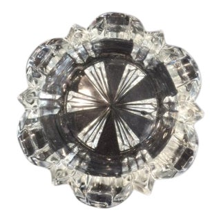 Stuart Crystal Style Crystal Ashtray For Sale