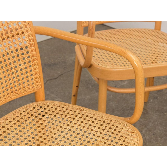 Wood Joseph Hoffman Bentwood Chairs - Set of 8 For Sale - Image 7 of 11