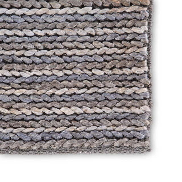 Contemporary Jaipur Living Aleah Natural Gray Area Rug - 8′ × 10′ For Sale - Image 3 of 6