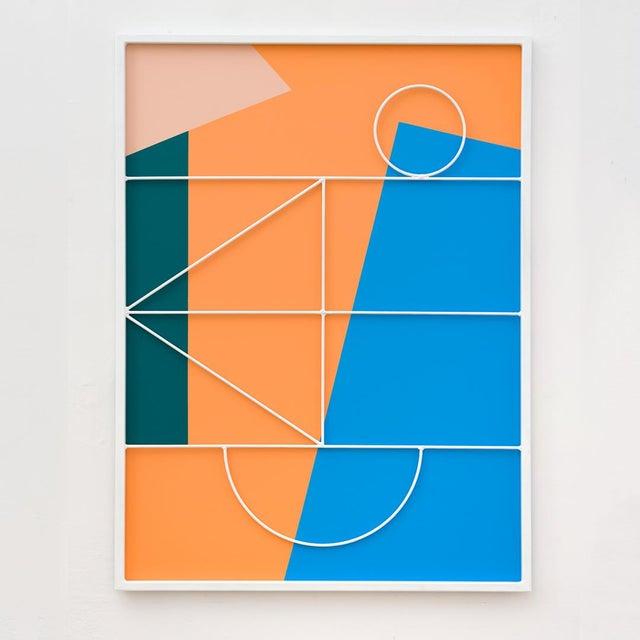 Contemporary Przemek Pyszczek, Facade Painting Ii, Ca, 2019 For Sale - Image 3 of 3