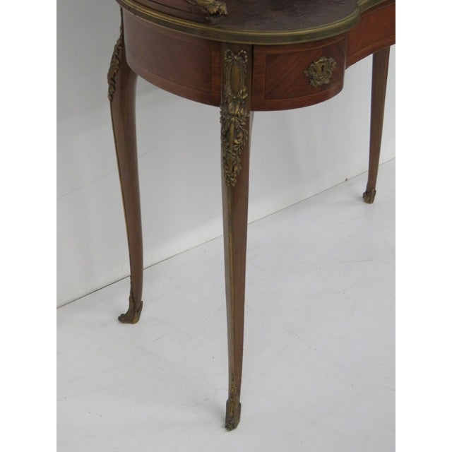 19th C. French Krieger Bronze Mounted Desk - Image 2 of 6