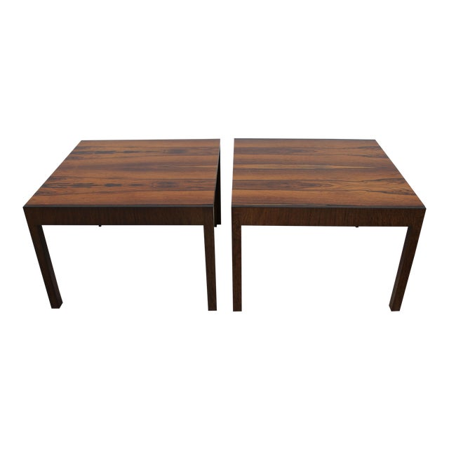 Baker Rosewood Tables - A Pair - Image 1 of 9