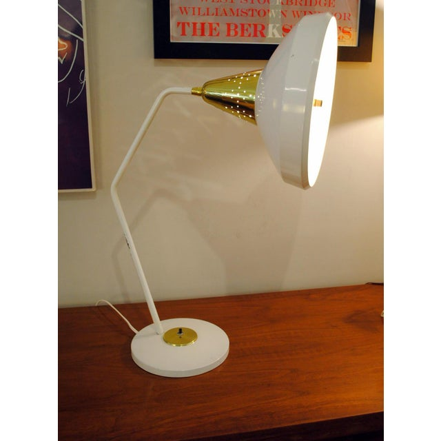 Mid Century Modern Desk Lamp by Swivelier-1950's For Sale In Boston - Image 6 of 13