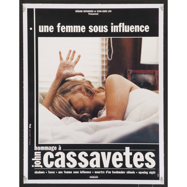 """A Woman Under the Influence"" French Film Poster - Image 1 of 2"