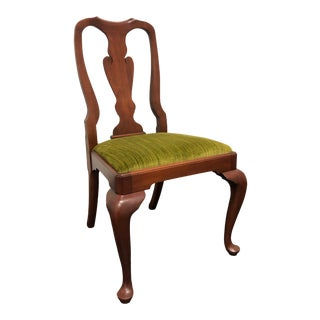Henkel Harris Cherry Queen Anne Dining Side Chair 110s 24 For Sale