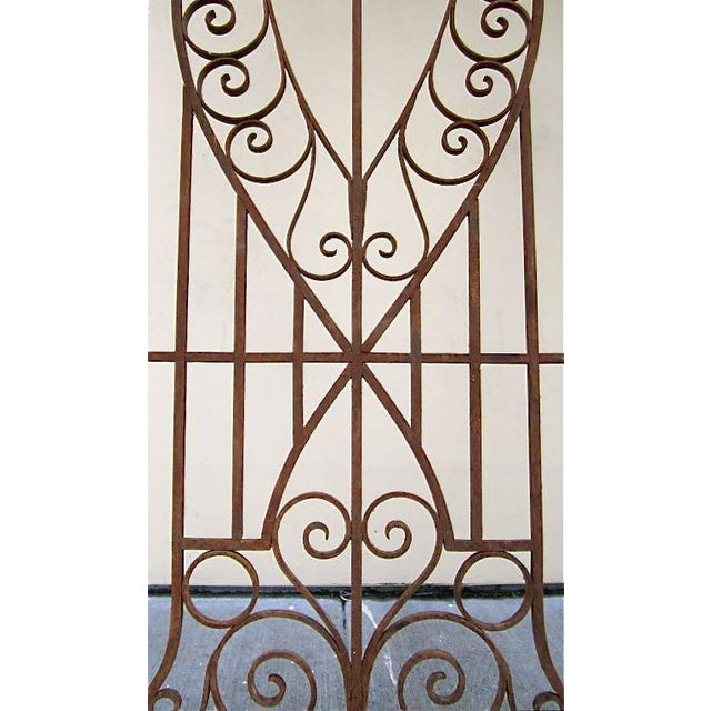 19th C. Egyptian Iron Gates - A Pair - Image 6 of 6