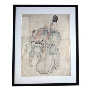 19th-Century Chinese Painting For Sale