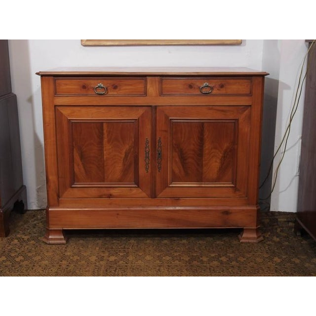Antique French Fruitwood Buffet, Louis Philippe, circa 1840 - Image 3 of 9