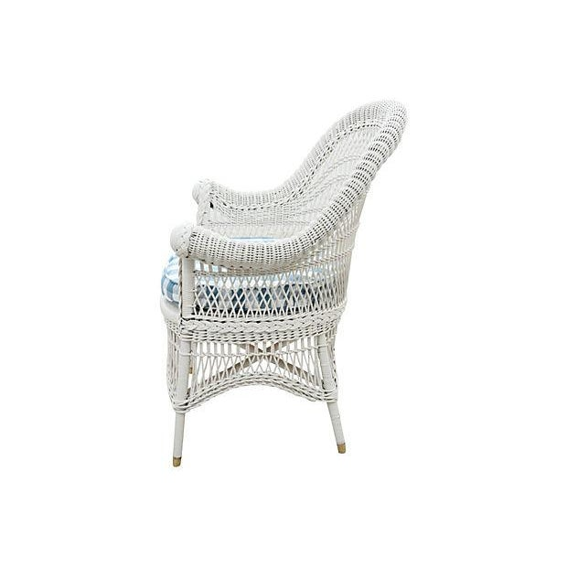 Wicker Accent Chair - Image 2 of 4