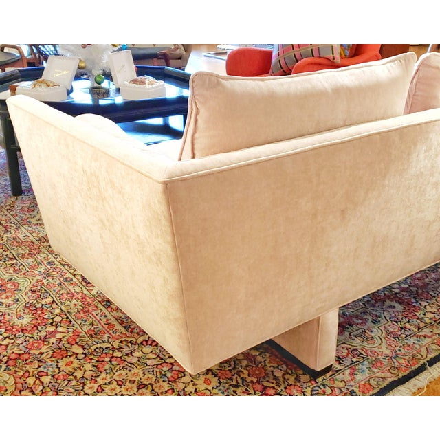 Vintage Edward Wormley Sofa 5485 for Dunbar For Sale In Austin - Image 6 of 12