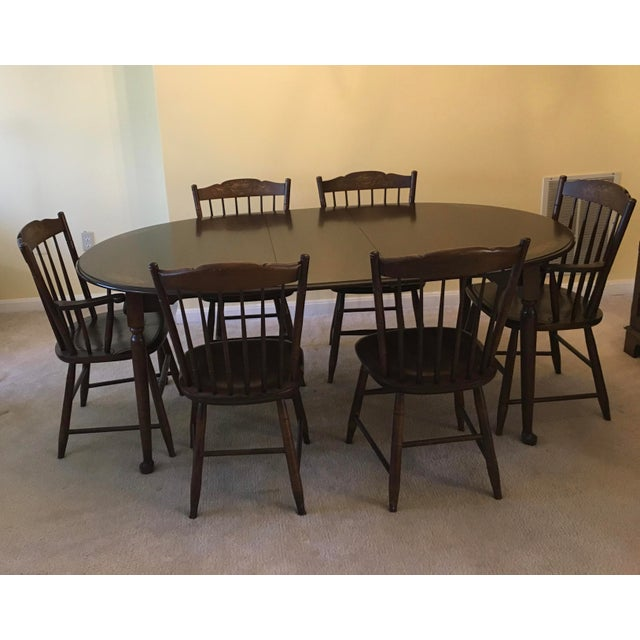 Hitchcock Dining Table & Chairs - Dining Set