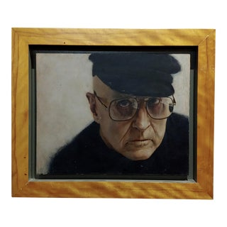 "Paul Fenniak ""Portrait of Rod Steiger"" Oil Painting For Sale"