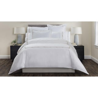 Saint-Tropez Embroidered Duvet Cover Queen - Champagne/Biscuit Preview