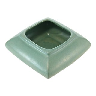 Aqua Green Square Planter For Sale