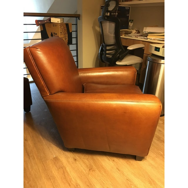 Mid Century Modern Leather Chair Chairish