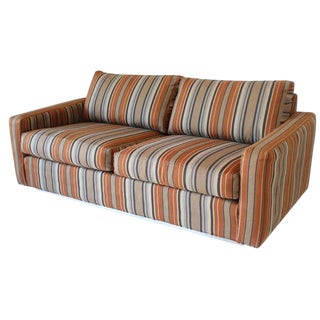 Milo Baughman for Thayer Coggin Loveseat Sofa For Sale