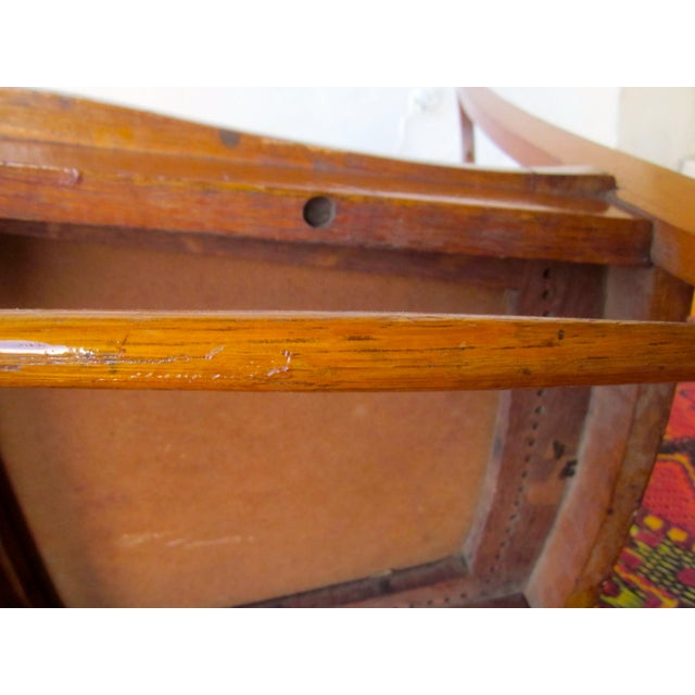 20th Century Americana Wooden Rocking Chair For Sale - Image 4 of 9