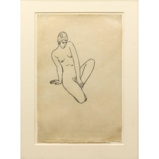 Work on Paper Jacques Schnier Drawing For Sale