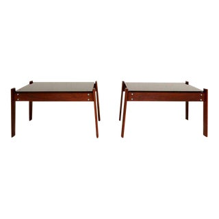 Pair of Percival Lafer Side Tables For Sale