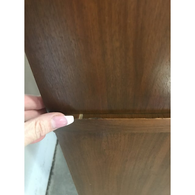 Mid-Century Walnut China Cabinet - Image 8 of 9