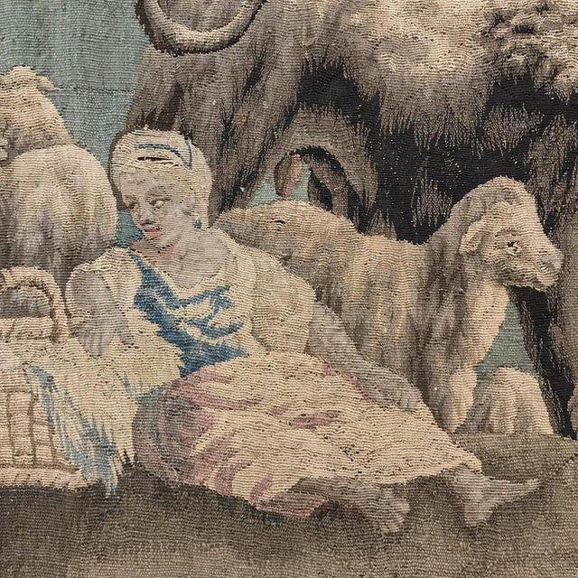 Textile Grand 17th Century Oudenaarde Tapestry For Sale - Image 7 of 13