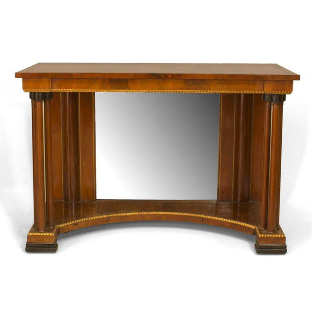 Neoclassical Russian Neoclassic Style Console Table For Sale - Image 3 of 3