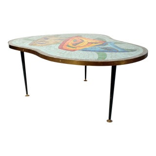 1960s Mosaic top coffee table For Sale