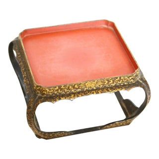 Meiji Lacquer Presentation Stand For Sale