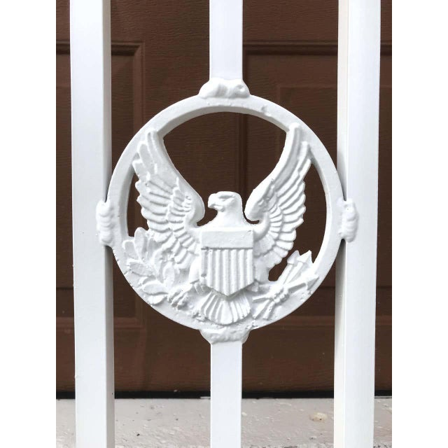 Presidential Wrought Iron Firescreen, Truman Little White House, Key West, Fl For Sale - Image 11 of 12