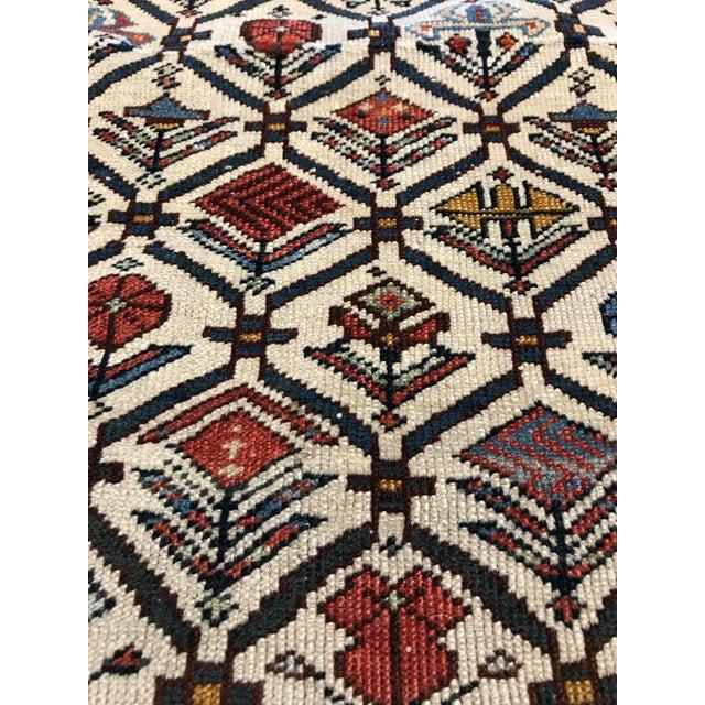 Primitive Antique Caucasian Marasali Shirvan Prayer Rug For Sale - Image 3 of 4