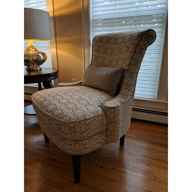 2010s Art Deco-Inspired Accent Chairs by Thomasville - A Pair For Sale - Image 5 of 11