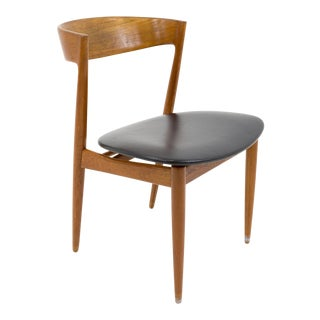 Kai Kristiansen Style Mid Century Modern Dining Chair For Sale