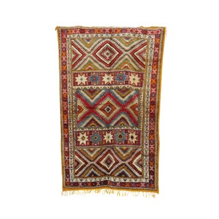 "Taznakht Vintage Moroccan Rug, 5'2"" X 7'10"" Feet"