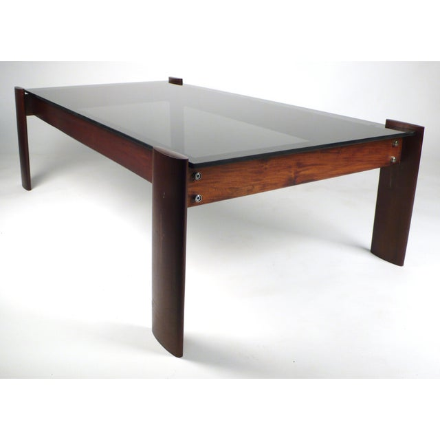 Modern Percival Lafer Coffee Table in Jacaranda Rosewood For Sale - Image 3 of 10