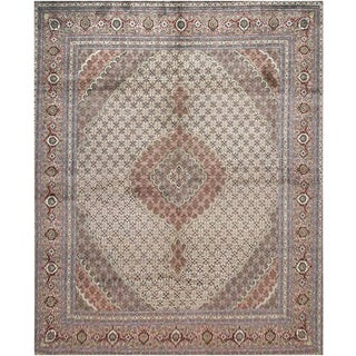 """Mansour Extraordinary Handwoven Persian Tabriz Rug - 8' X 10'3"""" For Sale"""