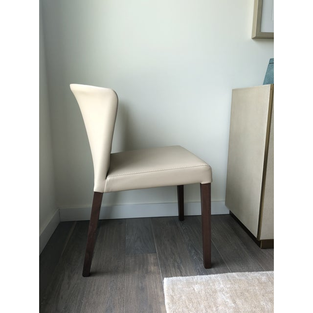 Mid-Century Modern Crate & Barrel Italian Mid-Century Modern Dining Chairs - A Pair For Sale - Image 3 of 6