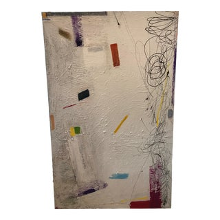 """""""Paint Box"""" Contemporary Abstract Painting For Sale"""