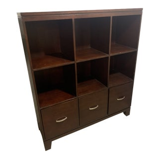 Ethan Allen Cabinet with File Drawers For Sale
