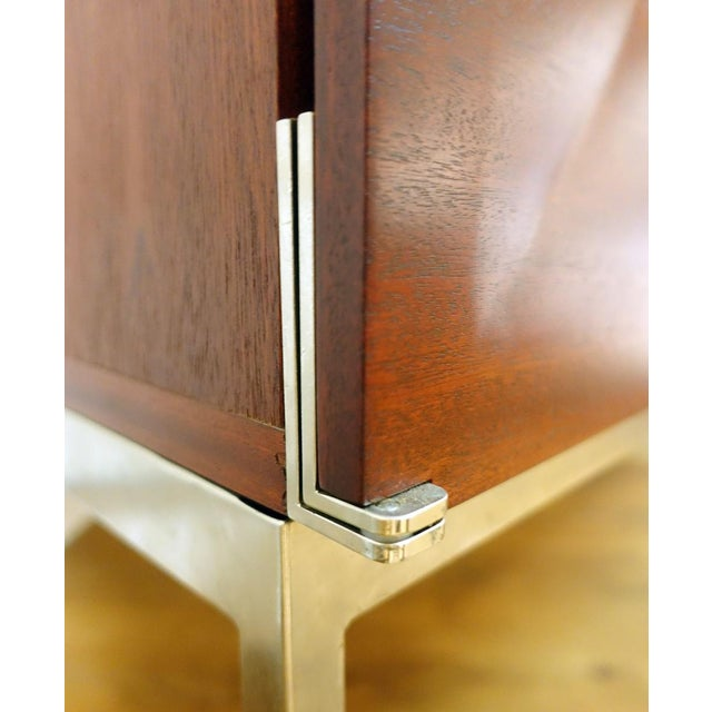 """Wood """"Pointe De Diamant"""" Highboard by Antoine Philippon & Jacqueline Lecoq For Sale - Image 7 of 9"""